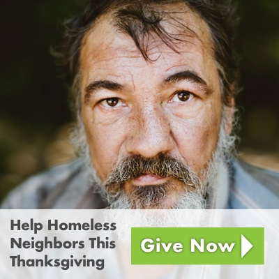Help Homeless Neighbors This Thanksgiving